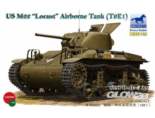 Bronco US M22 Locust Airborne Tank (T9E1) 1:35 (CB35162)