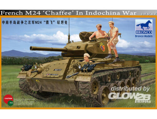 Bronco French M24 Chaffee in Indochina War 1:35 (CB35166)