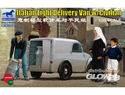 Bronco Italian Delivery Van w/civilian 1:35 (CB35171)