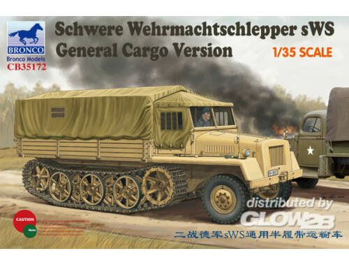Bronco German sWs Tractor Cargo Version 1:35 (CB35172)