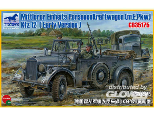 Bronco Mittlerer Einheits Personenkraftwagen (m.E.pkw) Kfz12 (Early Version) 1:35 (CB35175)