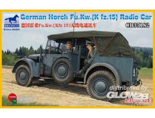 Bronco Horch Fu.Kw.(Kfz.15) Radio Car 1:35 (CB35182)