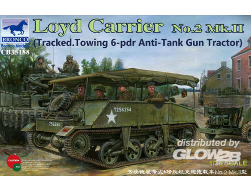 Bronco Loyd Carrier No.2 Mk.II 1:35 (CB35188)