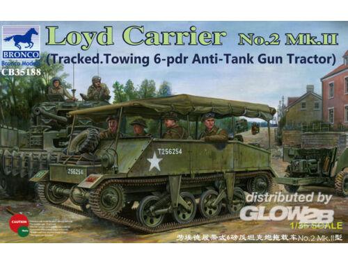 Bronco Loyd Carrier No.2 Mk.II 1:35 (CB35188)