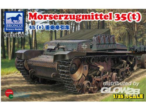 Bronco Morserzugmittel 35(t) 1:35 (CB35196)