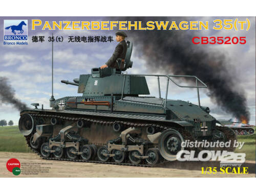Bronco Panzerbefehlswagen 35(t) 1:35 (CB35205)