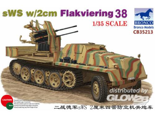 Bronco sWS w/2cm Flakviering 38 1:35 (CB35213)