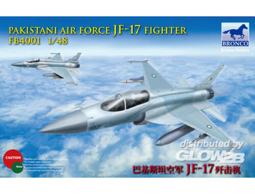 Bronco Pakistan Air Force JF-17 fighter 1:48 (FB4001)