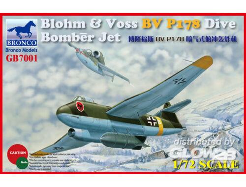 Bronco Blohm Voss P178 Dive Bomber Jet 1:72 (GB7001)