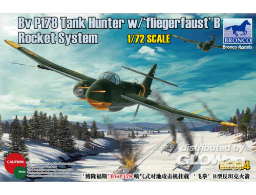 Bronco BV P178 Tank Hunter w/Fliegerfaust'B Rocket System 1:72 (GB7004)