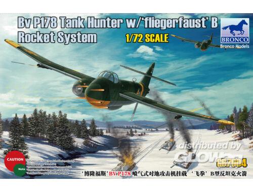 Bronco BV P178 Tank Hunter w/Fliegerfaust'B Rocket System 1:72 (GB7004)