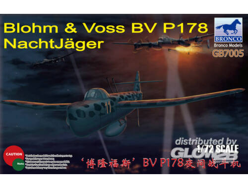 Bronco BV P178 NachtJäger 1:72 (GB7005)