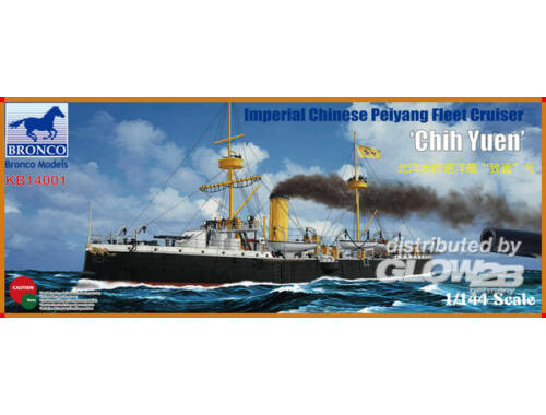 Bronco The Imperial Chinese Navy Protected Crui Cruiser Chih Yuen 1:144 (KB14001)