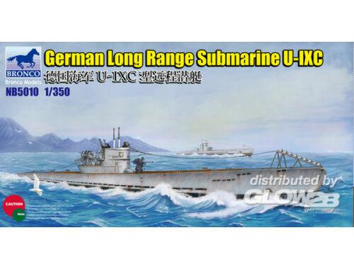 Bronco German Long Range Submarine Type U-IXC 1:350 (NB5010)