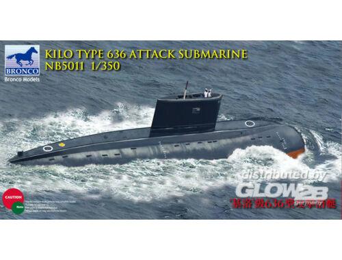 Bronco Kilo Class (Improved) Attack Submarine 1:350 (NB5011)