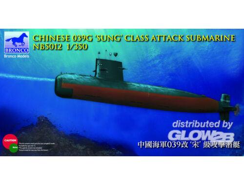 Bronco Chinese 039G'Sung'Class Attack Submarine 1:350 (NB5012)