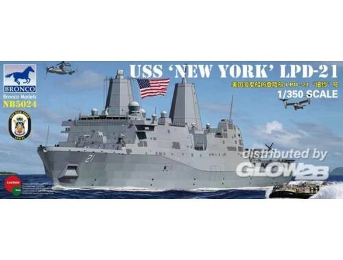 Bronco USS LPD-21'New York' 1:350 (NB5024)