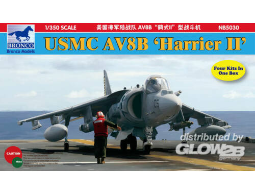 Bronco AV8B Harrier II 1:350 (NB5030)