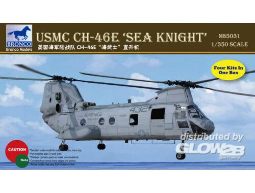 Bronco CH-46E Sea Knight 1:350 (NB5031)