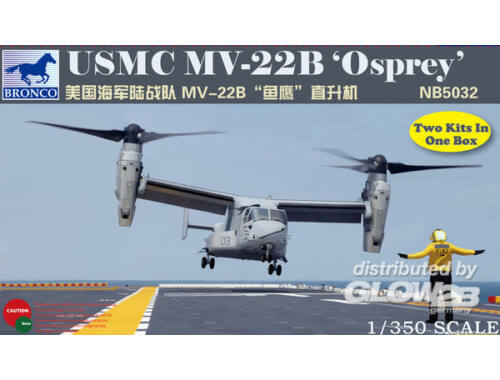 Bronco MV-22B Osprey 1:350 (NB5032)