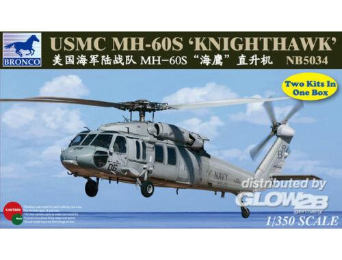 Bronco MH-60S Knighthawk 1:350 (NB5034)