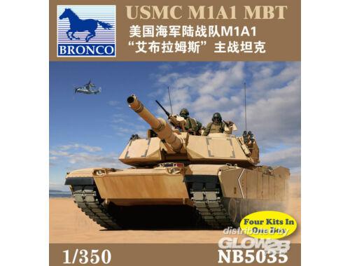 Bronco USMC M1A1 MBT 1:350 (NB5035)