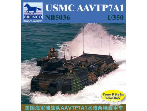 Bronco USMC AAVTP7A1 1:350 (NB5036)