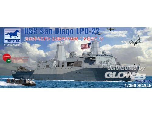 Bronco LPD-22 USS San Diego 1:350 (NB5038)