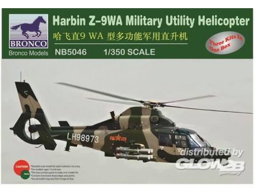 Bronco Harbin /-9WA Military Utility Helicopter 1:350 (NB5046)