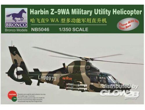 Bronco Harbin /-9WA Military Utility Helicopter 1:350 (NB5046)