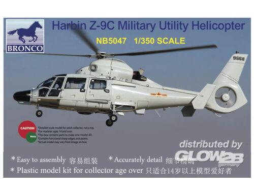 Bronco Harbin Z-9C Military Utility Helicopter 1:350 (NB5047)