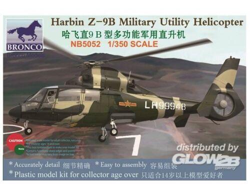 Bronco Harbin Z-9B Military Utility Helicopter 1:350 (NB5052)
