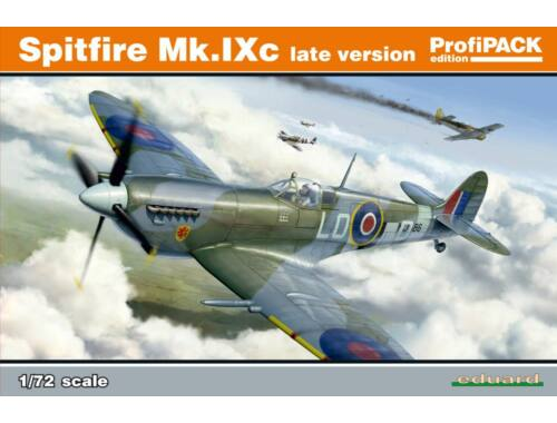 Eduard Spitfire Mk.IXc late version ProfiPACK 1:72 (70121)