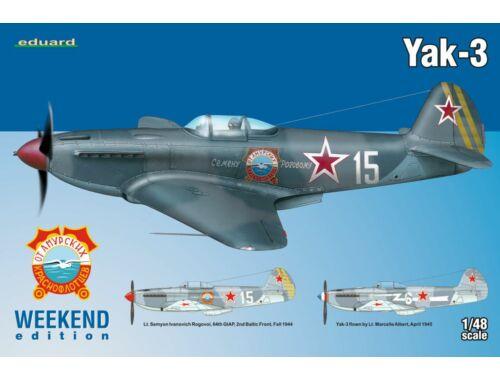 Eduard Yak-3 WEEKEND edition 1:48 (8457)