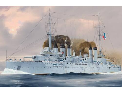Hobby Boss French Navy Pre-Dreadnought Battleship Danton 1:350 (86503)