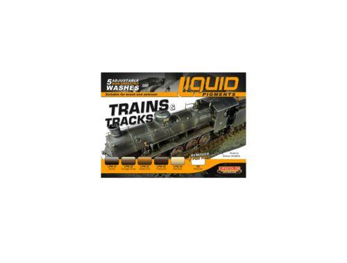 Lifecolor Liquid Pigments Trains Tracks (LP05)