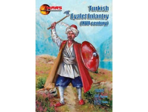 Mars Turkish Eyalet infantry, XVII century 1:72 (72097)