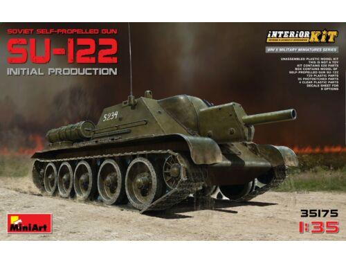 Miniart SU-122 (Initial Production)w/Full Interior 1:35 (35175)
