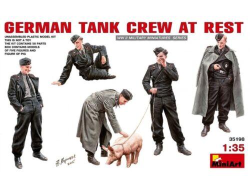 Miniart German Tank Crew at Rest 1:35 (35198)