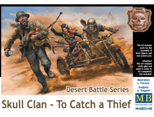 Master Box Desert Battle Series,Skull Clan-To Catch a Thief 1:35 (35140)