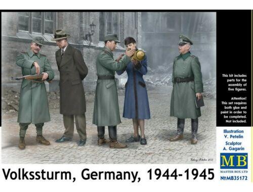 Master Box Volkssturm Germany, 1944-1945 1:35 (35172)
