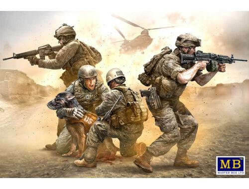 Master Box No Soldier left behind - MWD Down 1:35 (35181)