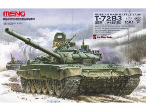 Meng Russian Main Battle Tank T-72B3 1:35 (TS-028)