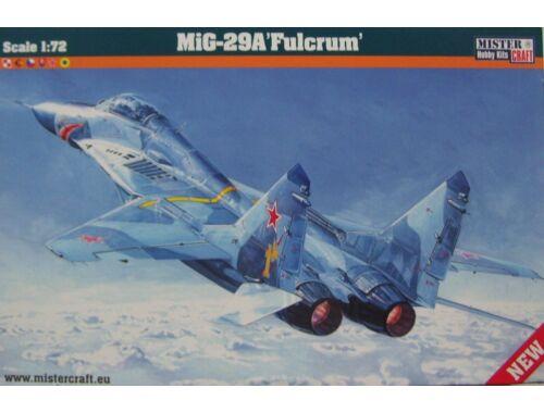 Mistercraft MIG-29 izd.9-12 Fulcrum 1:72 (D-20)