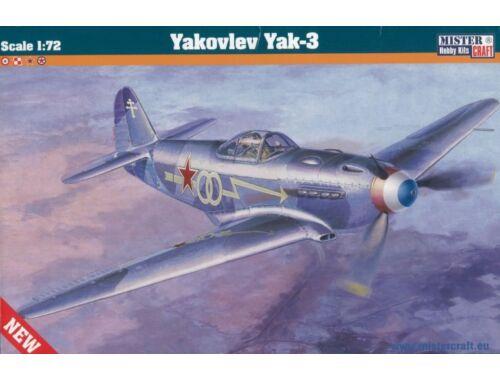 Mistercraft Yakovlev Yak-3 1:72 (D-207)