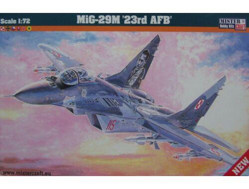 Mistercraft MIG-29M 23rd AFB 1:72 (D-22)