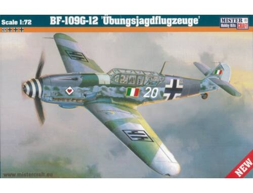 Mistercraft BF-109 G-12 Übungsjagdflugzeuge 1:72 (D-24)