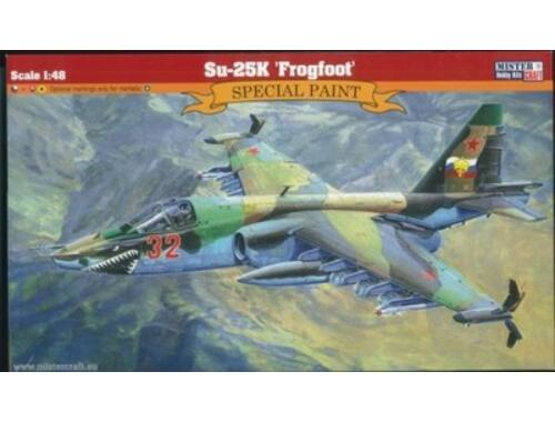 Mistercraft SU-25K Frogfoot 1:48 (G-10)