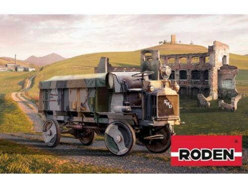 Roden FWD Model B 3-ton US Army AmmunitionTruc 1:72 (736)