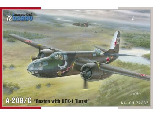 Special Hobby A-20B/C Boston with UTK-1 Turret 1:72 (72337)